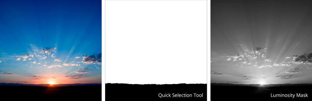 comparing selection tools