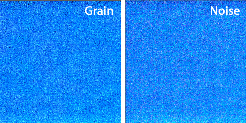 grain and noise