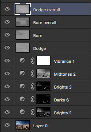 luminosity masks layers workflow