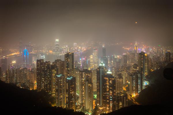 victoria peak hong kong photomatix