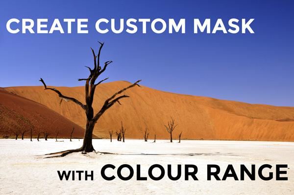 custom mask with colour range