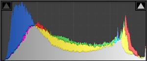 histogram for dynamic range