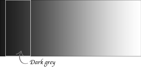 dark grey tones