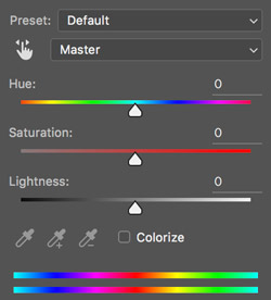 hue saturation lightness