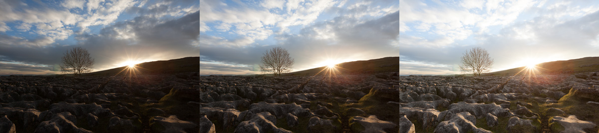 bracketed exposure malham cove