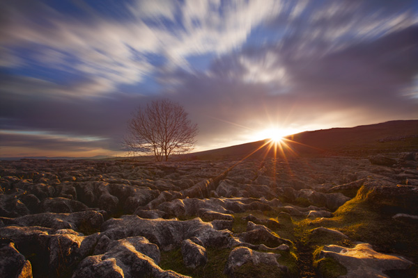 Shimmering Lights In Malham