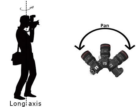 long axis