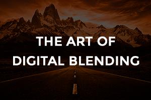 the at of digital blending