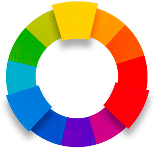 primary color wheel image