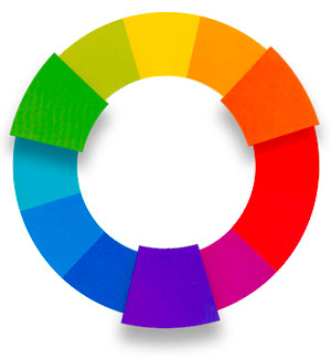 secondary color wheel image