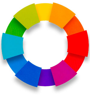 tertiary color wheel image
