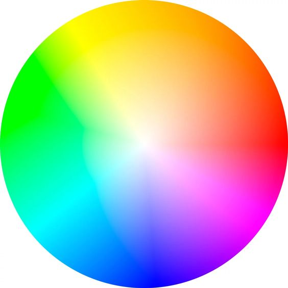 YRB color wheel