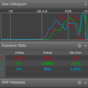 dynamic range and histogram