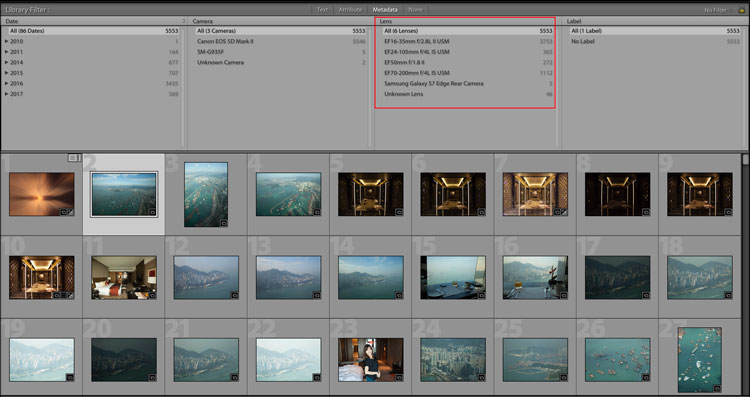 raw files metadata adobe lightroom