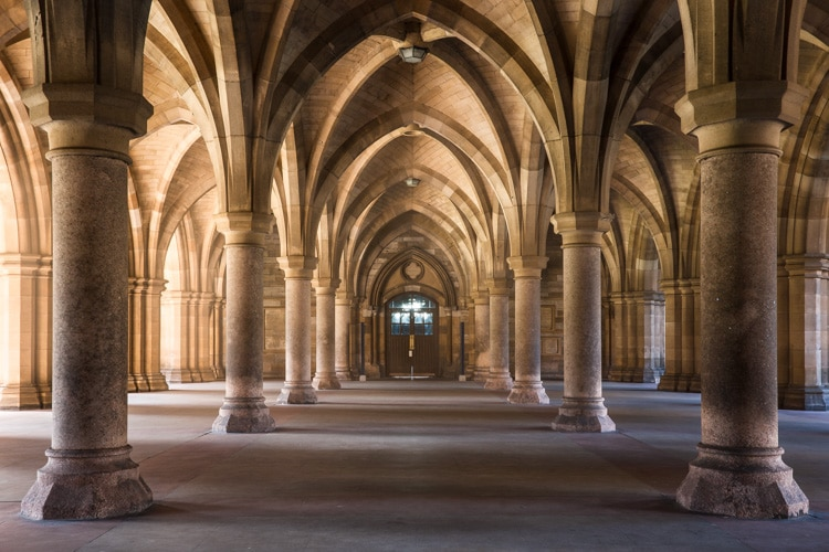 cloister at university of glasgow