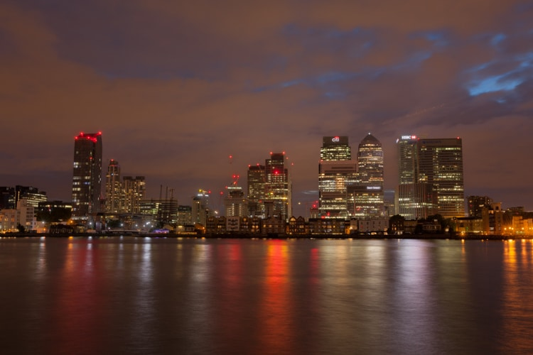 canary wharf london unedited