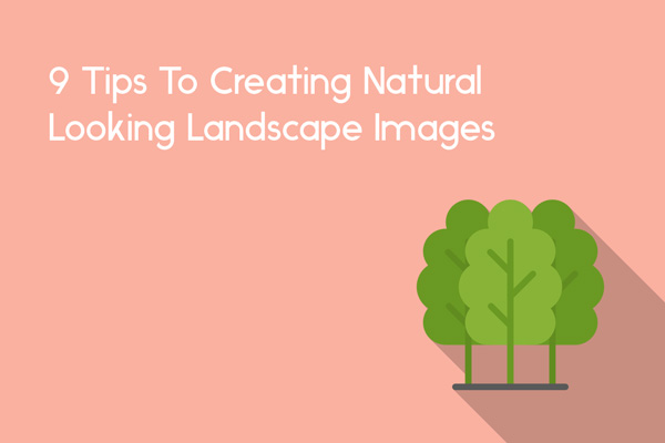 tips to creating natural landscape photographs